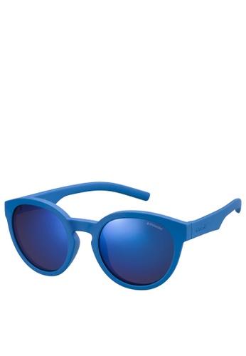 Polaroid Kids blue Polaroid 8019/S Sunglasses 99B98KCBE895B1GS_1