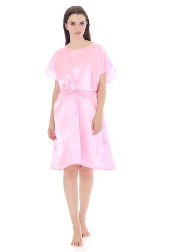 Cynthia pink Charming Sleepdress Pink Batwing Saten 21771AA7A1EE55GS_1