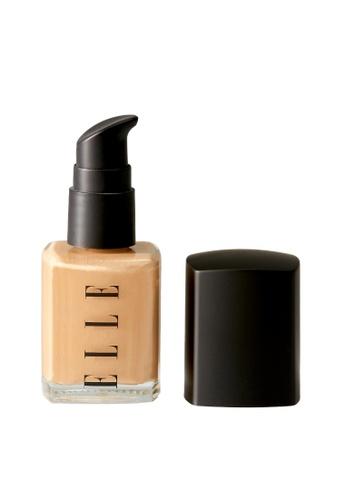 ELLE beige ELLE Makeup Liquid Foundation Natural Tan BC926BE561C393GS_1