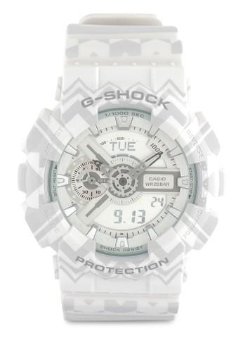 Jual G-Shock Casio G-SHOCK Jam Tangan Pria - White - Resin - GA ... 759ed40f9a