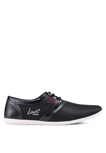 Louis Cuppers black Casual Derbies 96FBESHAA16FB5GS_1