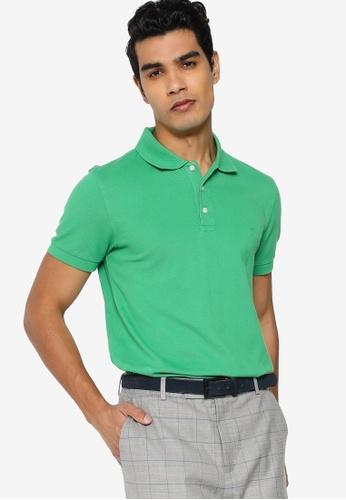 Brooks Brothers green Mens Knit Polo Shirt 8A2B5AA9B0087DGS_1
