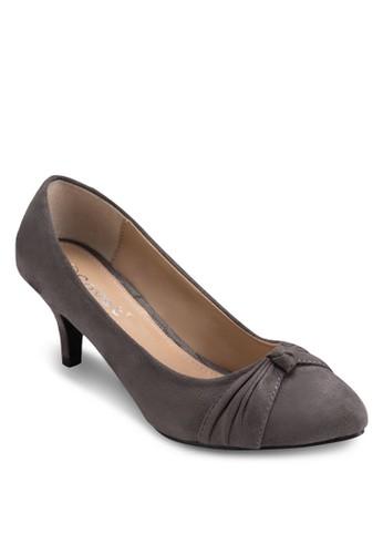 扭結尖頭esprit cn高跟鞋, 女鞋, 厚底高跟鞋