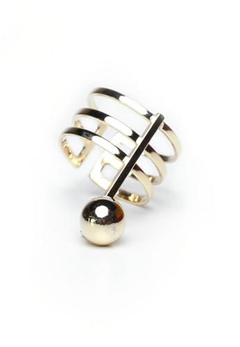 Gung Jewellery gold Noel Metal Pearl Ring in Gold D8272AC2943D55GS_1