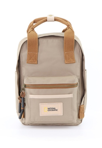 National Geographic National Geographic Legend Backpack Beige Small 201D7AC2FA3969GS_1