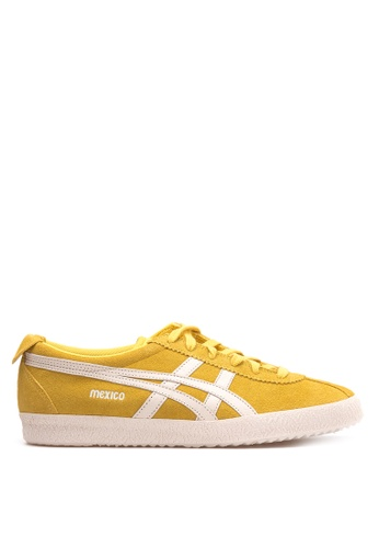 Onitsuka Tiger yellow Mexico Delegation Sneakers ON625SH37WWGPH_1