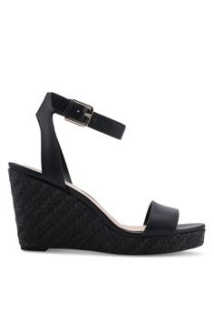 1c7b3df0cb7d ALDO black Unaliviel Open Toe Wedge Heels 322B0SHAF9CF92GS 1