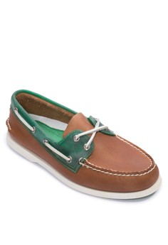 Authentic Original Seaglass 2-Eye Boat Shoe