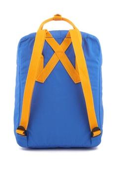 2e21590375 Fjallraven Kanken Un Blue-Warm Yellow Kanken Mini Backpack HK  700.00.  Sizes One Size