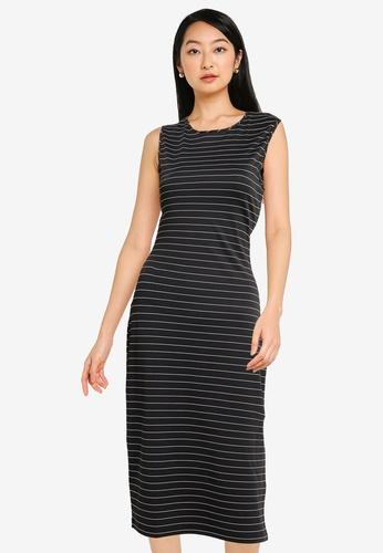 ZALORA BASICS multi Sleeveless Bodycon Dress 3AB52AA718237FGS_1
