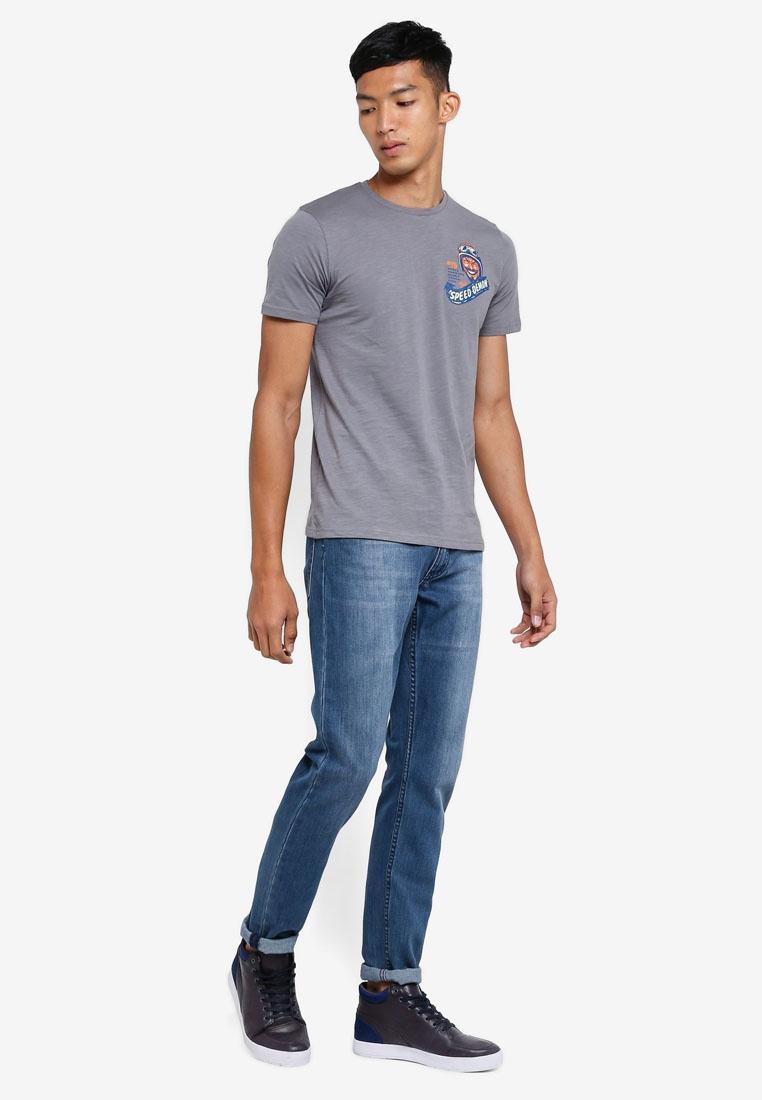 Graphic T Gray Shirts Steel OVS rrUdq