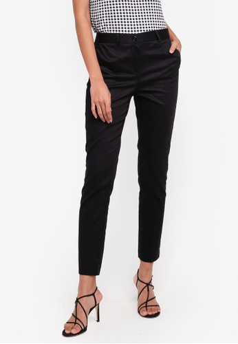 OVS black Black Trousers 74F62AA0885B94GS_1