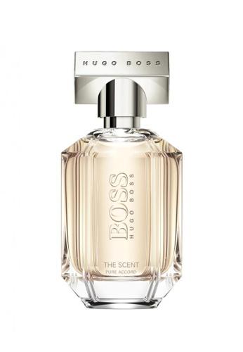 Hugo Boss Fragrances HUGO BOSS Boss The Scent Pure Accord For Her Eau de Toilette 50ml 51FCABE83D4D09GS_1