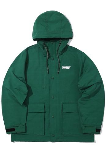 :CHOCOOLATE green Logo jacket 346DFAA543EBAEGS_1
