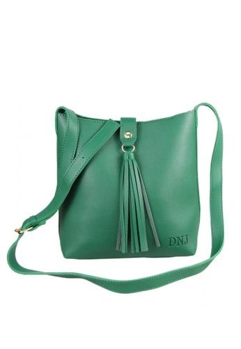 DNJ green Korean Sling bag DN487AC0JTKGPH_1