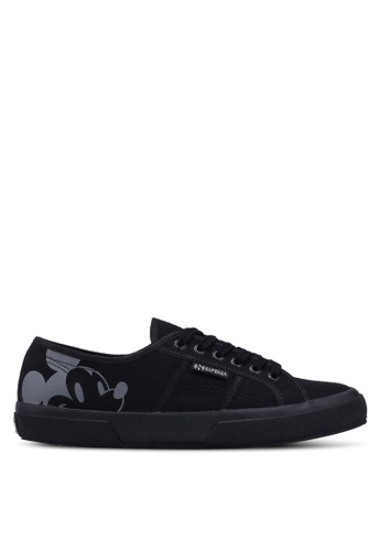 Superga black Efglu Sneakers B6031SH3986DA3GS_1