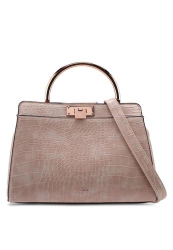 ALDO pink Wicirani Top Handle Bag BED18AC07DD845GS_1