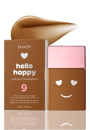 Benefit beige Hello Happy Soft Blur Foundation Shade 09 1C060BE78CE0D1GS_1