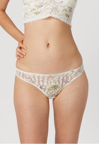 6IXTY8IGHT white 6IXTY8IGHT KENSINGTON Sexy Lace Women Panties Fahion Underpants Low Wasited Cotton Crotch Briefs Women's Lingerie PT10853 F7213US1E6FD63GS_1