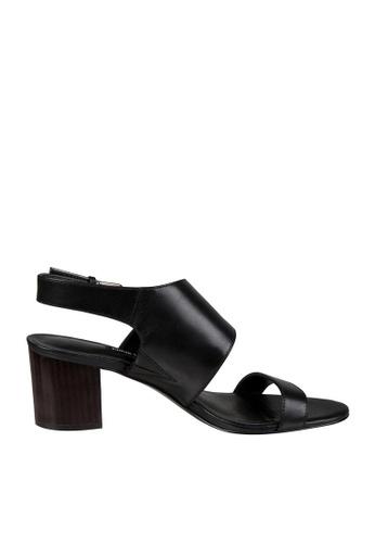 Nine West black NWFORLI Slingback Sandals D35A7SH58CEA85GS_1