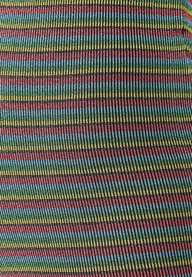 TOPSHOP Stripe Trousers Multi Flare Glitter O8w5rO