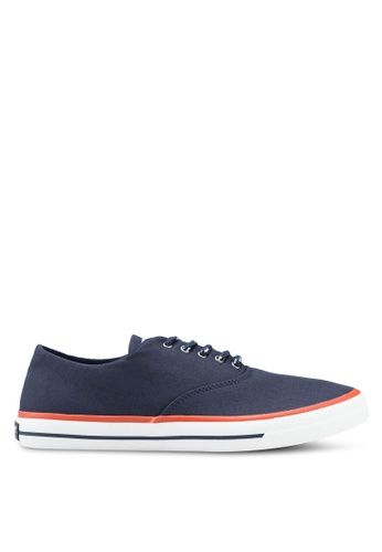 Sperry navy Captain's Cvo Nautical Sneakers SP132SH0SXB4MY_1