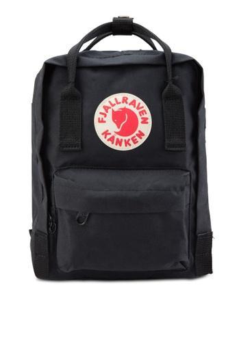 effddb8e6976 Fjallraven Kanken black Black Kanken Mini Classic Backpack FJ382AC23GOYMY 1