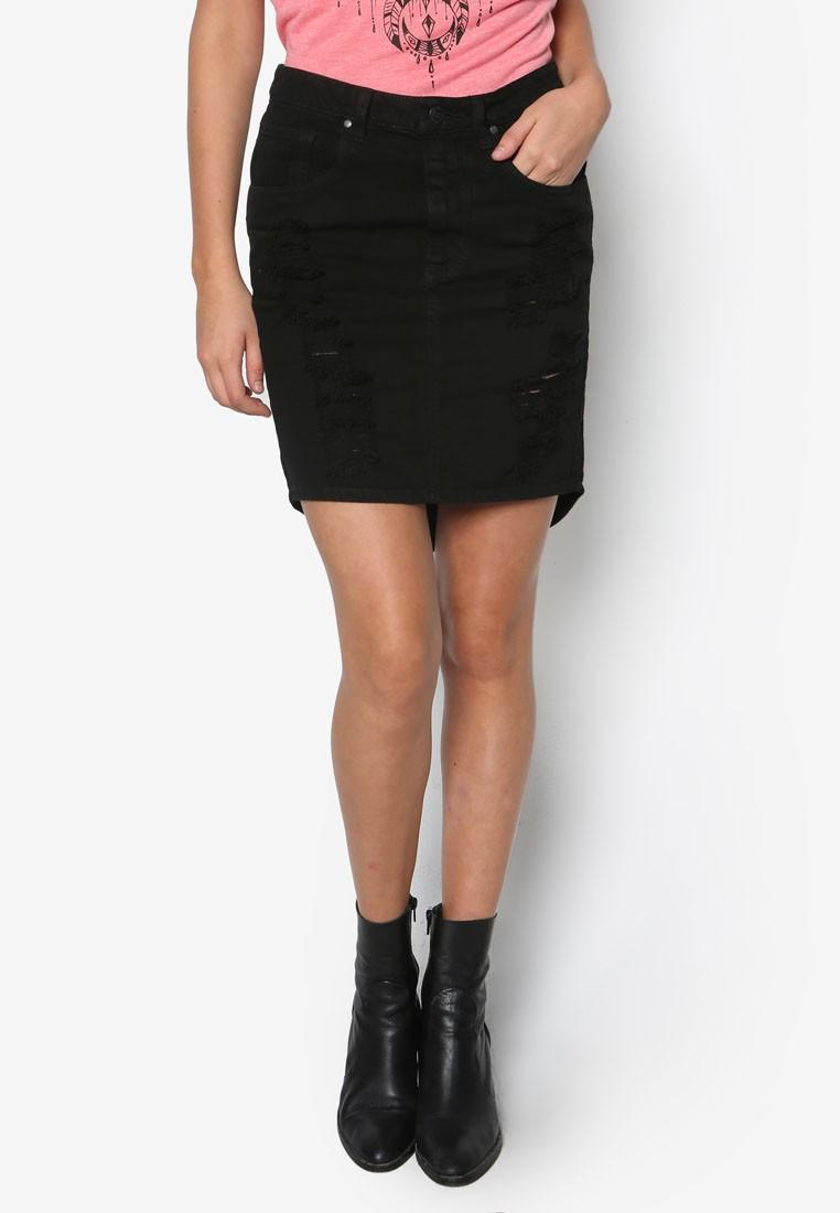 Jackson Denim Skirt