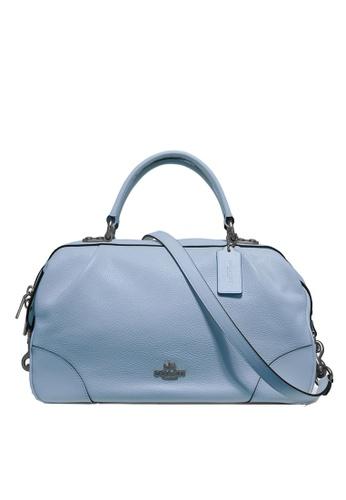 Coach blue Lane Satchel Bag (cv) C0651AC43E6C48GS_1