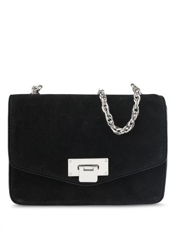 Mango black Chain Leather Bag 499ADACA23A9B8GS_1