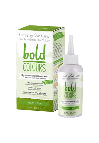 Tints of Nature Tints of Nature Bold Colours Semi-Permanent Color Dye 70ml (Green) F6D4EBE0520895GS_1