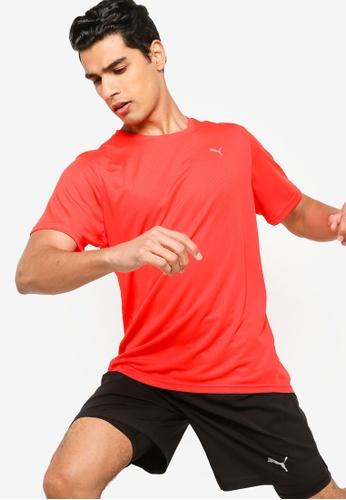 PUMA red Performance Men's Training Tee 96239AA37E2D1AGS_1