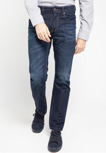 Cardinal blue Straight Slim Jeans 0844DAA15C17ADGS_1
