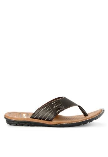 Homyped brown Panamera 01 Men Sandals D2D90SH9E30777GS_1
