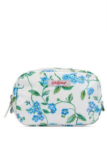 Cath Kidston white Forget Me Not Classic Make Up Case E164DAC71B882BGS_1