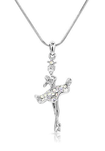 SO SEOUL silver Ellie Ballerina Soubresaut Necklace 954E5ACA1CD205GS_1