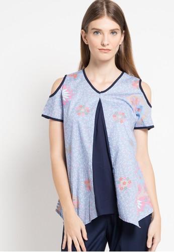 bhatara batik blue Natalina BH237AA67UMAID_1
