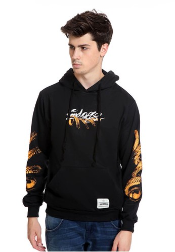 Endorse black Endorse Sweater Hoodie Snake Black - END-RK007 05E95AAC2F52D0GS_1