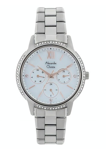 Alexandre Christie silver Alexandre Christie Jam Tangan Wanita - Silver - Stainless Steel - 2720 BFBSSMS  55DA5ACF46608BGS_1