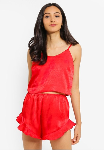 811c167c773c5 Buy MISSGUIDED Cropped Cami PJ Set Online on ZALORA Singapore