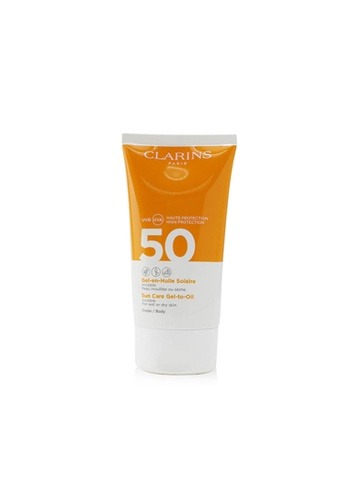 CLARINS CLARINS - Invisible Sun Care Gel-To-Oil For Body SPF 50 - For Wet or Dry Skin 150ml/5.3oz 52444BE2BD5284GS_1