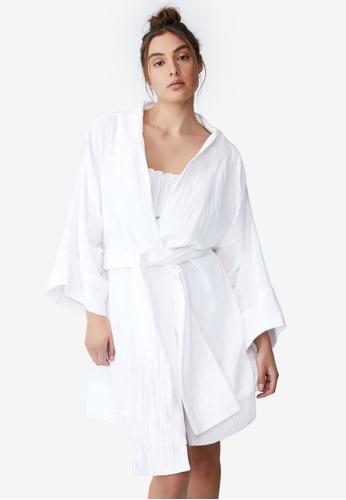 Cotton On Body white Pre Party Robe 3563DAA6D166CCGS_1