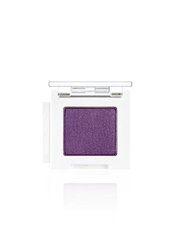 THE FACE SHOP purple Mono Cube Eyeshadow (Glitter)  PP01 Purple Diamond 8B122BEB443031GS_1