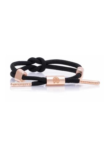 Rastaclat black Women's Knotted Bracelet: Dahlia II 6DA1BAC4FA01D8GS_1
