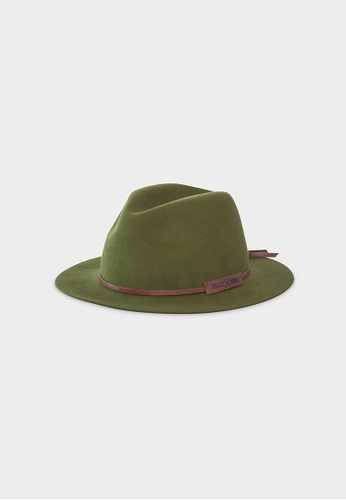 Billy Bones Club green Jungle Boogie Fedora 99DD2AC50D6A87GS_1