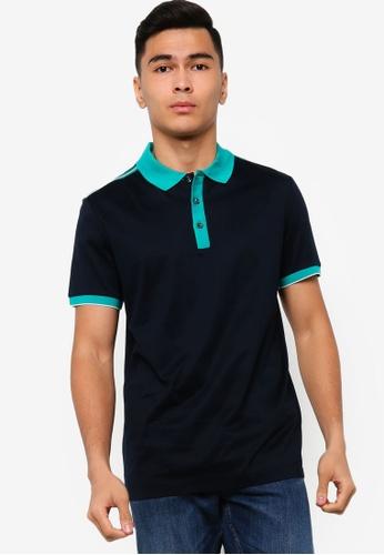 BOSS blue Phillipson 34 Polo Shirt B867AAAA886A73GS_1