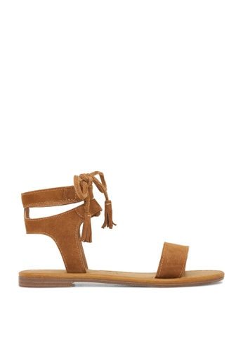 ROC Boots Australia brown Elan Tan Sandal RO289SH46BPXSG_1