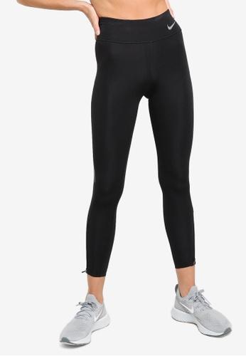 Nike black Women's Epic Faster Mid-Rise 7/8 Running Leggings 7CF59AA9F693A7GS_1