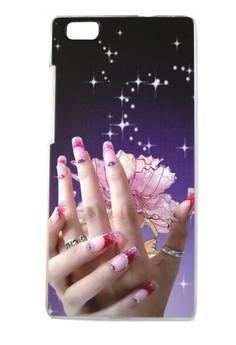 Huawei Ascend P8 Lite Elegant Hand Design Hard Case