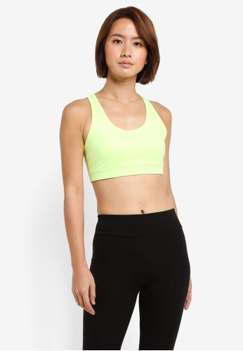 Reebok yellow Workout Ready Sports Bra RE691US0SW1LMY_1